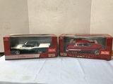 (2) SUN STAR 1:18 SCALE DIE CAST CARS