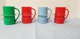 (4) PLASTIC MR. PEANUT CUPS