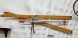 PR. VINTAGE ADIRONDACK PETERS WOODEN SNOW SKIS