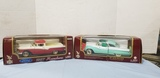 (2) ROAD LEGENDS 1:18 SCALE DIE CAST CARS