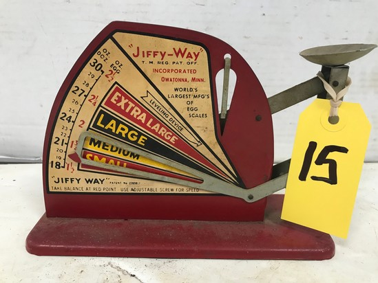 JIFFY-WAY EGG SCALE