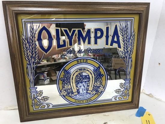 OLYMPIA BEER MIRROR