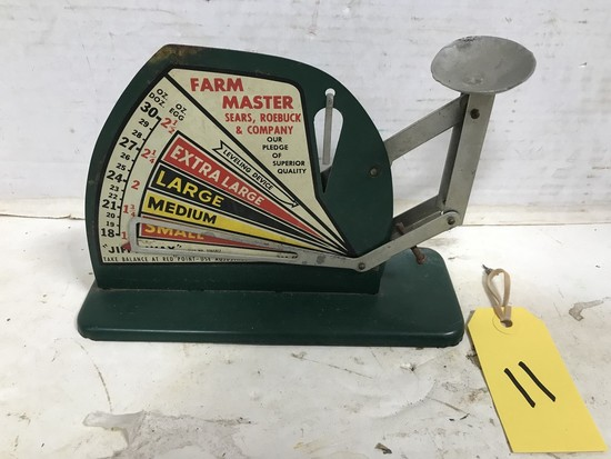 FARM  MASTER SEARS, ROEBUCK & CO EGG SCALE