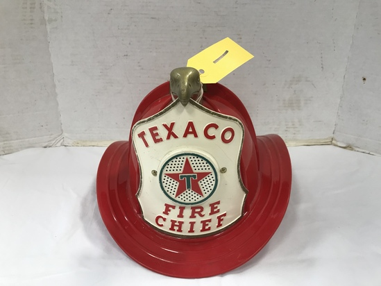 TEXACO FIRE CHIEF KIDS HELMET