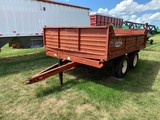 PRONOVOST P516/3S 8FT X 10FT 16,000# HYDRAULIC LANDSCAPING TRAILER