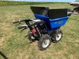 MUCK TRUCK MAX 4X4 POWER WHEEL BARROW W/ HONDA 160 GAS ENGINE