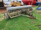 JOHN DEERE VAN BRUNT 20X7B 12FT GRAIN DRILL W/ GRASS SEED