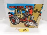 TOY FARMER CASE AGRI KING 1170 DIE CAST TRACTOR