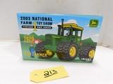 ERTL 2003 NATIONAL FARM TOY SHOW 7020 JOHN DEERE DEISELDIE CAST TRACTOR