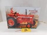 ERTL FOXFIRE FARM IH 826 LOWELL DAVIS MISS CHARLOTTE  DIE CAST TRACTOR