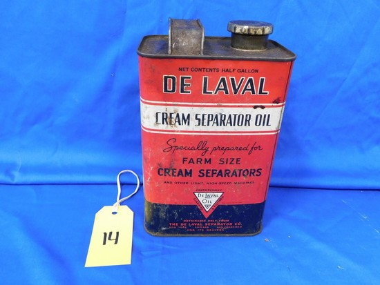 DELAVAL CREAM SEPARATOR OIL CAN