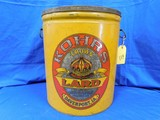 50 LB KOHRS CROWN LARD CAN