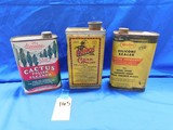 ANTIQUE POLISH CANS
