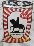 PORCELAIN IQ ALLIED MILLS SIGN