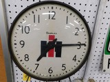 INTERNATIONAL HARVESTER CLOCK