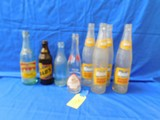 ASSORTED VINTAGE POP BOTTLES