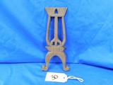 ORNAMENTAL CAST BOOT JACK