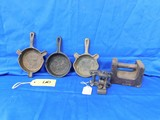 ASSORTED CAST IRON LOT