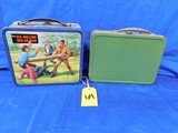PAIR OF VINTAGE LUNCH BOXES