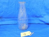 1 QUART LITTLE JIM DAIRY MILK BOTTLE