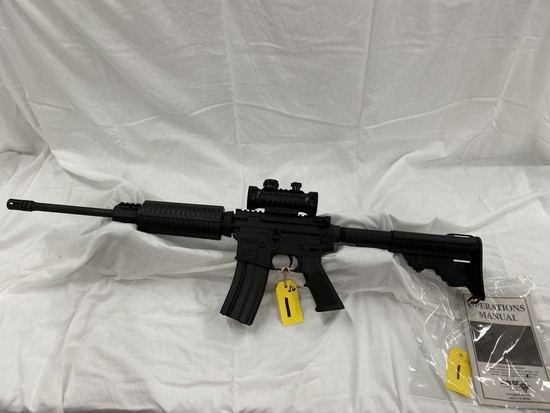 DPMS PANTHER ARMS MODEL A-15 .223-5.56MM RIFLE W/STEALTH TACTICAL RED DOT SCOPE