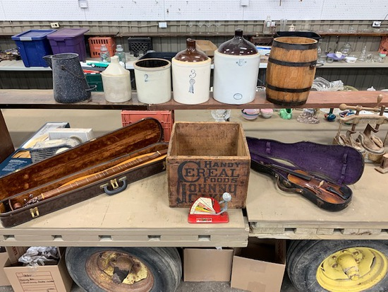 ANTIQUE, COLLECTIBLE & PERSONAL PROPERTY AUCTION!