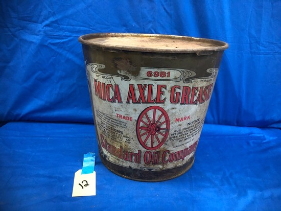 MICA AXLE GREASE STANDARD OIL CO. CAN