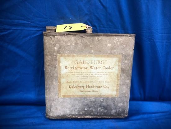 """GALESBURG"" REFRIGERATOR WATER COOLER"