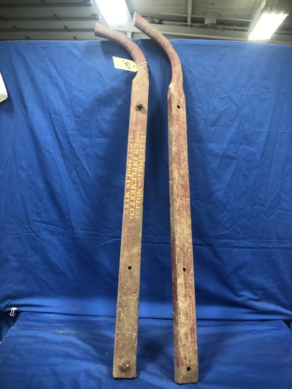 (2) MINNEAPOLIS MOLINE POWER IMPLEMENTS CO WOOD HANDLES