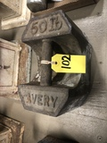 AVERY 50# SCALE WEIGHT