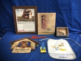 FLAT OF ASSORTED LOCAL ADVERTSING ITEMS