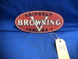 BROWNING GRIPBELT DRIVES OVAL MASONITE PLACARD