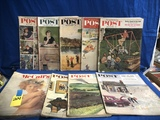 FLAT OF ASSORTED 1950'S POST MAGAZINES