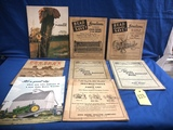 ASSORTED EARLY JOHN DEERE MANUALS & ACCOUNT BOOKS