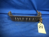 PATTEE IRON HORSE DRAWN IMPLEMENT TOOL BOX