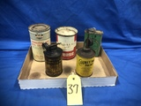 FLAT OF HOUSEHOLD OIL & OTHER PRODUCT CANS
