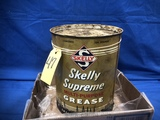 10# SKELLY SUPREME MULTI PURPOSE GREASE CAN - FULL