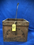BROWN LYNCH SCOTT WOOD BAILED CRATE