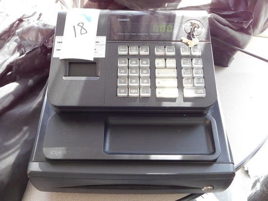 CASIO PCR-272 ELECTRONIC CASH REGISTER