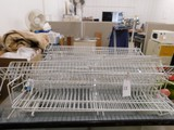 BULK LOT OF WIRE CLOSET SHELVES