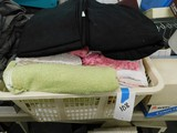 BULK LOT OF VARIOUS TOWELS, SHEETS & BLANKETS
