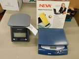 (2) DIGITAL POSTAGE SCALES