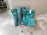 (4) CANVAS BAG TYPE LAWN CHAIRS