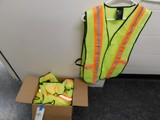 (10) NEW PARKING ATTENDANT SAFETY VESTS