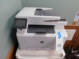 HP COLOR LAZER JET PRO MFP M277DW PRINTER / COPIER / SCANNER