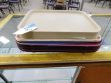(16) CAFETERIA TRAYS