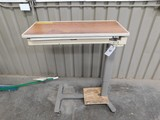 HILL-ROM ADJUSTIBLE HOSPITAL TRAY / CART