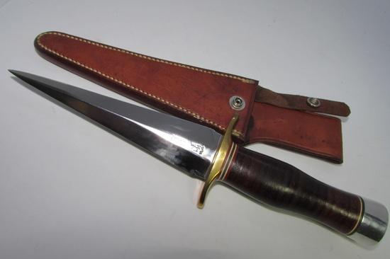 RANDALL #13-6 ARKANSAS TOOTHPICK KNIFE & SHEATH