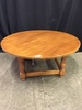 Maple Round Low Table