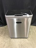 12.5 Gallon Stainless Steel Trash Can